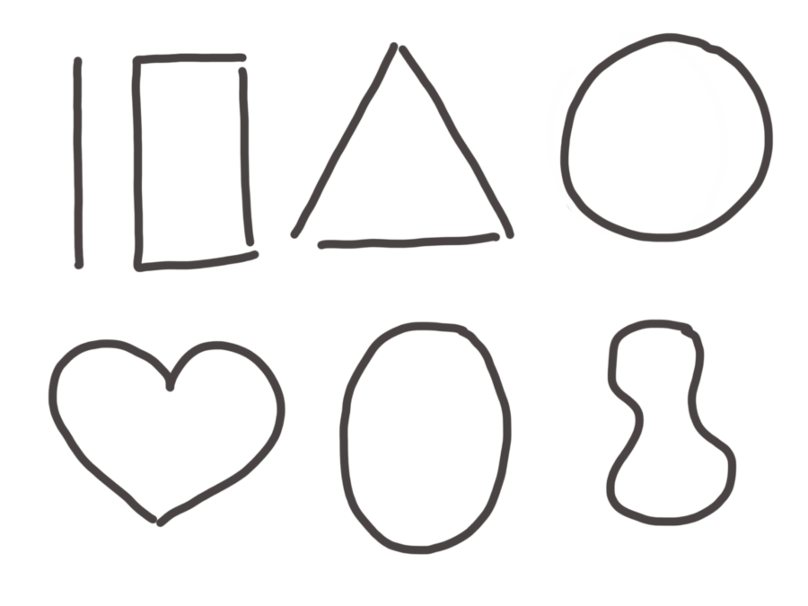 Formen fürs Zeichnen